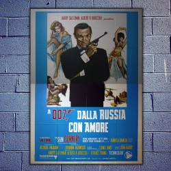 Original Movie Posters James Bond 007 From Russia 140 x 200 CM