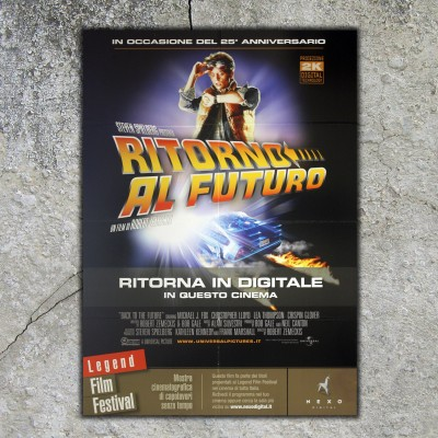 Original Poster Back To The Future - 100x140 CM