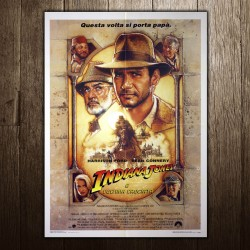 Original Posters Indiana Jones and the Last Crusade 100x140 CM