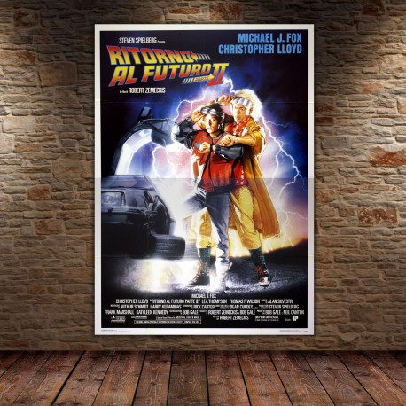 Original Poster Back To The Future - 140x200 CM