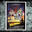 Original Poster Howard The Duck - Howard E Il Destino Del Mondo - 100x140 CM