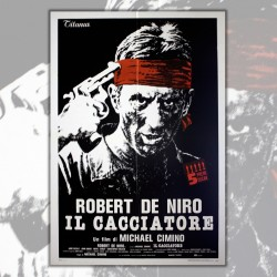 Movie Poster Il Cacciatore - The Deer Hunter - Robert  DeNiro 100x140