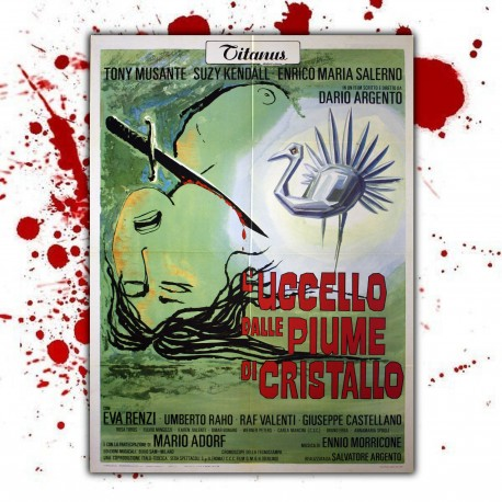 Original Film Poster Bird with the Glass Feathers- 100x140 CM