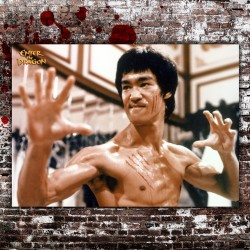 Poster Enter The Dragon Bruce Lee - 50x70 CM
