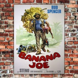 Manifesto Originale Banana Joe - Bud Spencer - 100x140 CM