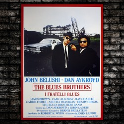 Movie Poster Blues Brothers - 70x100 CM