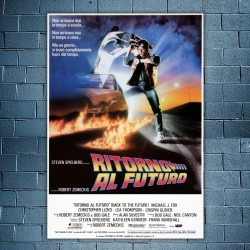 Movie Poster Ritorno Al Futuro - 70x100
