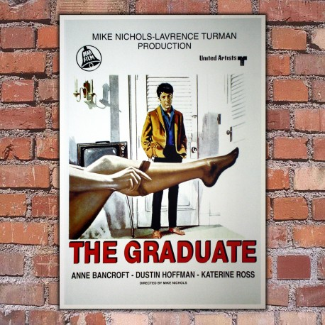 movie poster the graduate dustin hoffman 70x100 cm goposter. Black Bedroom Furniture Sets. Home Design Ideas