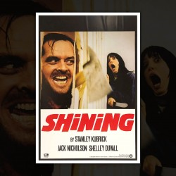 Movie Poster Shining - 70x100 CM