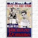 Movie Posters Roman Holiday 70x100 CM
