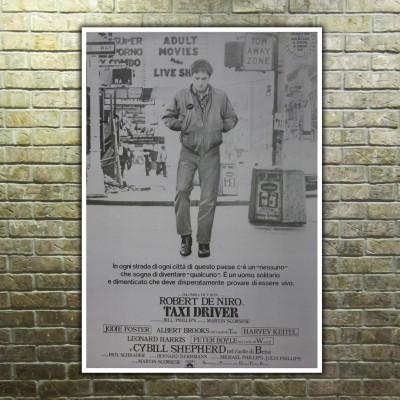 Movie Posters Taxi Driver - 70x100 CM