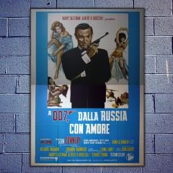 Original Movie Posters James Bond 007 From Russia 140 x 200 CM