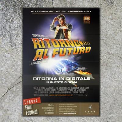 Original Poster Back To The Future - 100x140 CM