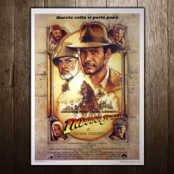 Original Posters Indiana Jones and the Last Crusade 100x140 CM
