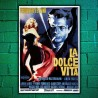 Poster La Dolce Vita  70x100 CM
