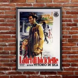 Poster Ladri Di Biciclette - Vittorio De Sica - 70x100 CM