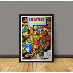 Poster Yellow Submarine Beatles-70x100