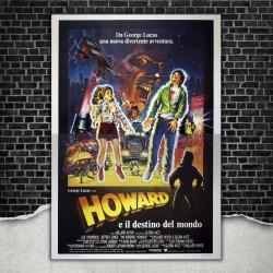 Original Poster Howard The Duck - Howard E Il Destino Del Mondo 140x200 CM