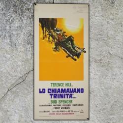Locandina Originale I Quattro Dell'Ave Maria - Four Gunmen of Ave Maria - 33x70 CM