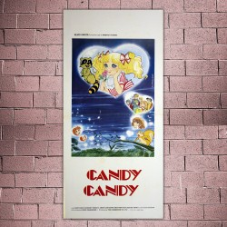 Locandina Originale Candy Candy - 33x70cm