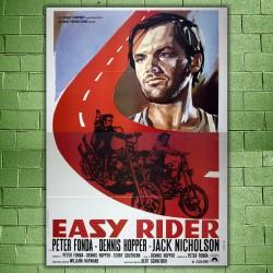 Manifesto Originale Easy Rider - 140x200 CM - Jack Nicholson
