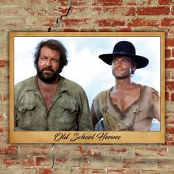 Poster Old School Heroes - 70x100 CM