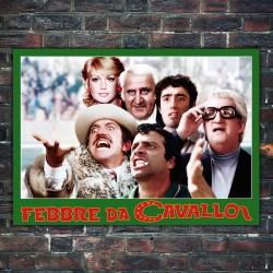 Film Poster Febbre Da Cavollo - 50x70 CM