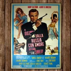 Original Movie Posters James Bond 007 Goldfinger - 100x140 CM