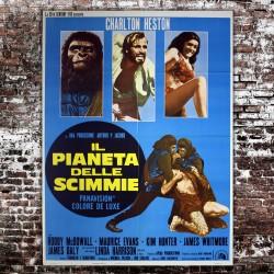 Manifesto Originale Il Pianeta Delle Scimmie 100x140 CM