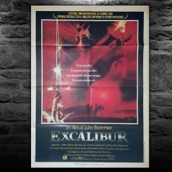 Manifesto Originale Excalibur - 100x140 CM