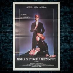 Manifesto Originale Miriam Si Sveglia A Mezzanotte - 100x140 CM