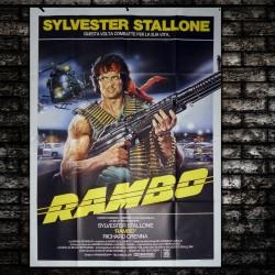 Original Poster Rambo - Sylvester Stallone - 140x200 CM