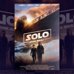 Manifesto Originale Star Wars Solo - 100X140 CM