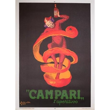 Leonetto Cappiello - Campari l'aperitivo - 1950