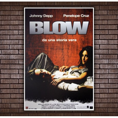 Movie Posters Blow  - Johnny Depp - 70x100 CM