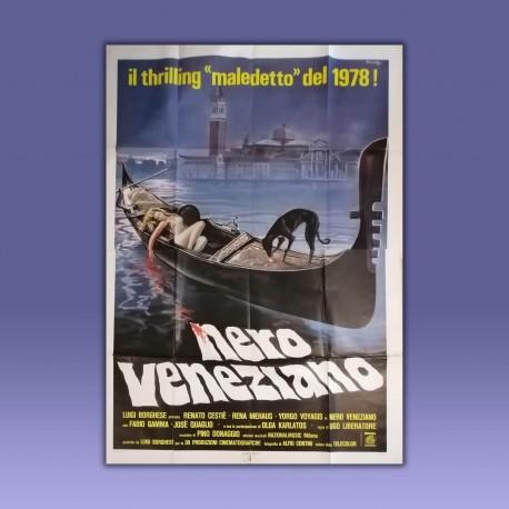 Manifesto 4F Nero Veneziano - 1978 - Ugo Liberatore