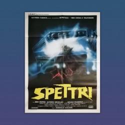 Manifesto Originale 2F Spettri - 1987 - Marcello Avallone