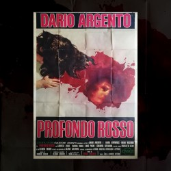 Manifesto Originale 4F Profondo Rosso Dario Argento 1975