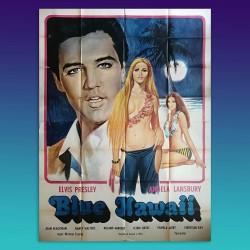 Manifesto Originale 4F Blue Hawaii - Elvis Presley - 1961 - 140X200 CM