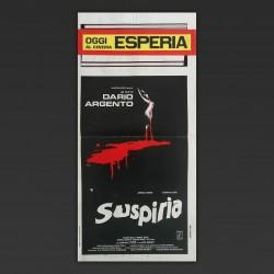 Locandina Originale Suspiria - Dario Argento 1977 - 33x70 CM