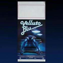 Locandina Originale Velluto Blu - 1986 - David Linch - 33x70 CM