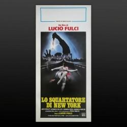 Locandina Originale Lo Squartatore Di New York  - 1982 - Lucio Fulci - 33x70 CM