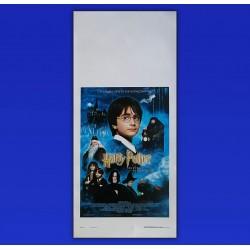 Locandina Originale Harry Potter La Pietra Filosofale  2001 - 33X70 CM