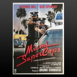 Manifesto Originale 2F Miami Supercops - I Poliziotti Dell'Ottava Strada