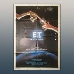 Manifesto Originale E.T. l'extraterrestre - 100x140 CM - Steven Spielberg
