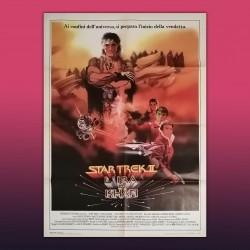 Manifesto 2F Originale Star Trek II -  L'ira di Kahn - 100X140 cm