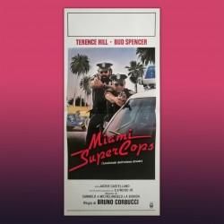 Locandina Originale Miami Supercops 1985 - 33x70 CM