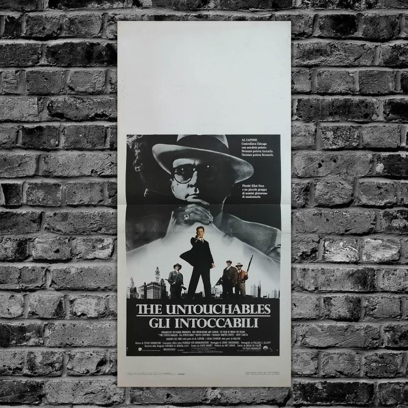 Locandina Originale Gli Intoccabili Brian De Palma 1987 - 33x70 CM