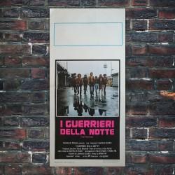 Locandina Originale I Guerrieri Della Notte - The Wariors 33x70 CM