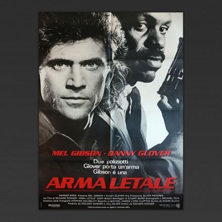 Manifesto Originale Arma Letale Lethal Weapon 1987
